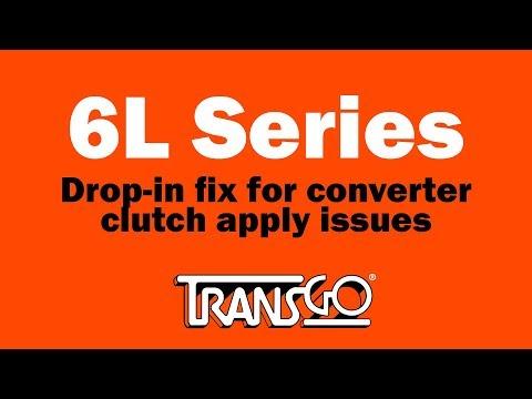 Transgo 6L8CSTCC Valve Kit Clutch Select /&