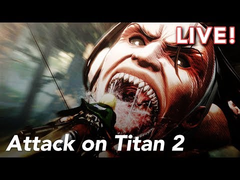 Attack on Titan 2 with Tim and Paul!