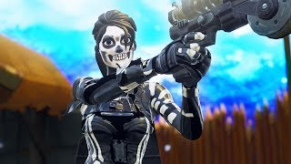 how to get the Female Skull Trooper skin in fortnite... 💀