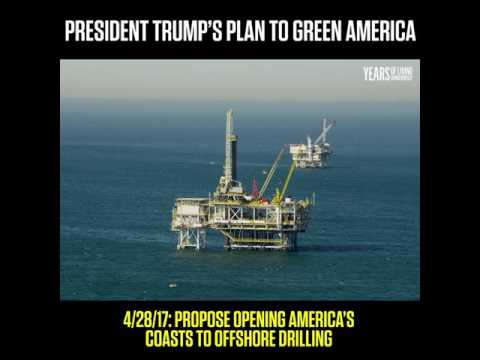 Trump's Plan to Green America