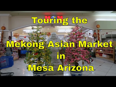 Mekong Asian Market Tour Mesa Arizona | Aurora's Vlog