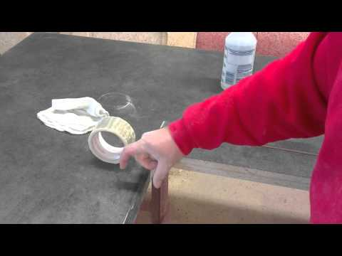 How To Install Bevel Edge On Laminate Countertop