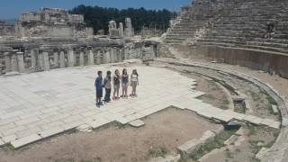 TEVİTÖL Acapella - Engel (A quick spontaneous performance in Ephesus visit)