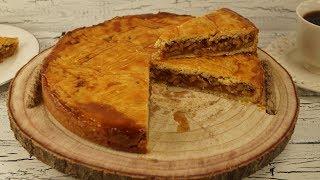 Cevizli Pasta Tarifi (Engadiner Nusstorte)