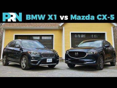 BMW X1 vs Mazda CX-5 | TestDrive Spotlight