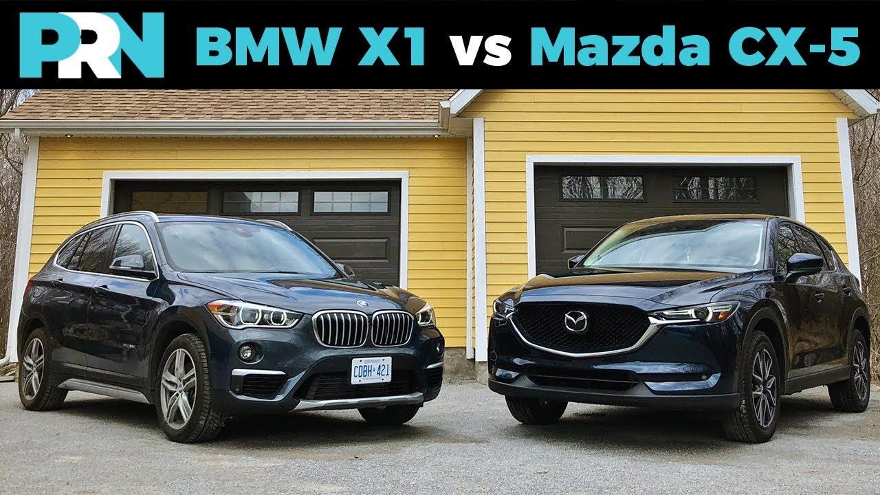 Bmw X1 Vs Mazda Cx 5 Testdrive Spotlight
