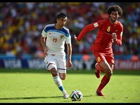 Belgium Vs Russia World Cup 2014 Belgium 1 0 Russia