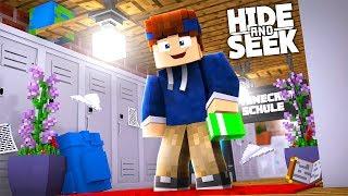 UNSER LETZTER SCHULTAG! | Minecraft Hide and Seek