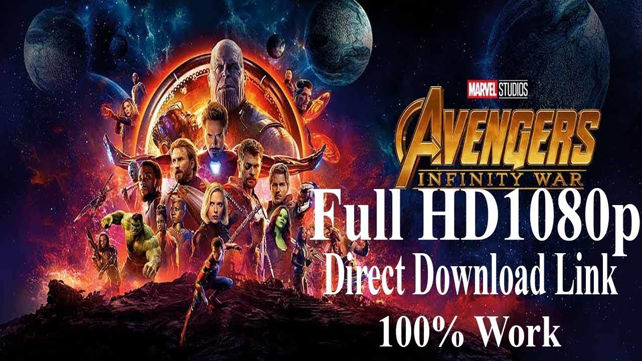 Avengers infinity war 2018 full hd 1080p direct download watch link 100 work youtube - Infinity war hd download ...