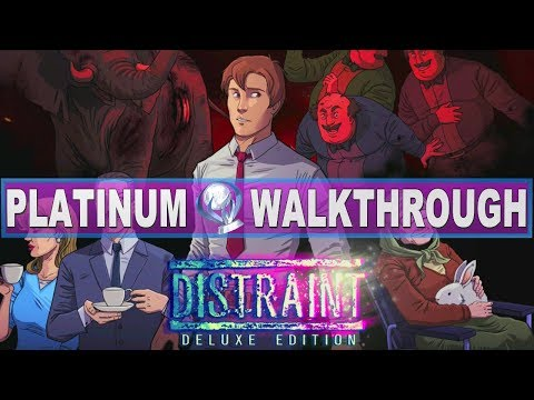 Distraint 100% Platinum Walkthrough | Trophy & Achievement Guide