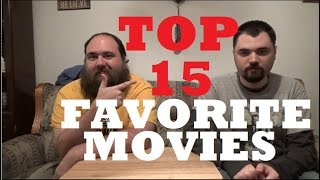 AJ's Movie Reviews: AJ & Chris' Top 15 Favorite Movies of All-Time(10-16-19)