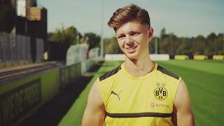 Nachwuchs beim BVB: Ein Tag mit Fußballtalent Alexander Laukart