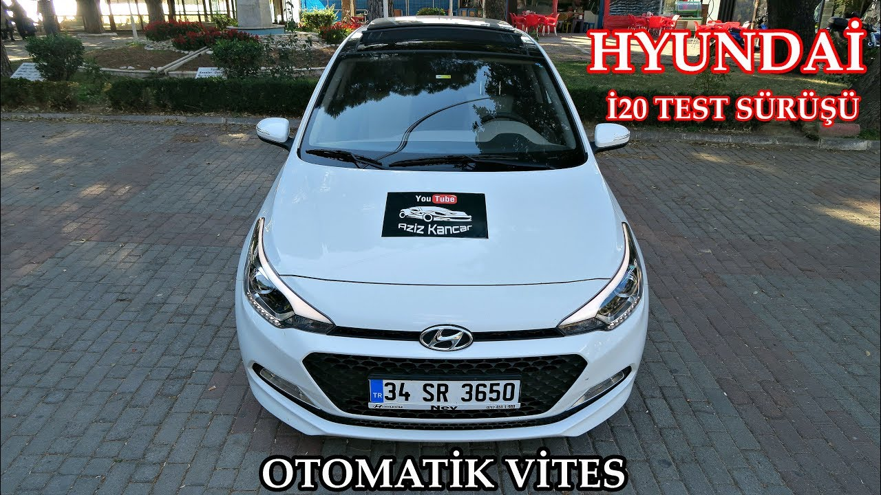 Hyundai İ20 Otomatik Vites   Test Sürüşü & İnceleme