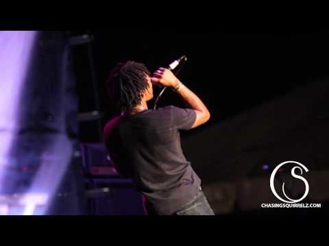 Lupe Fiasco - Kick, Push (live) - Schaeffer Eye Center Crawfish Boil 2012