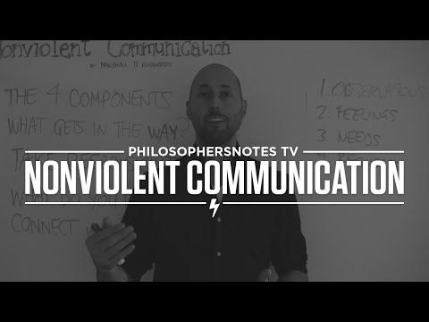 PNTV: Nonviolent Communication by Marshall B. Rosenberg