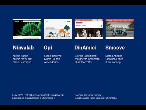 Laboratorio di Web Design e Multimedia B – 2020/2021