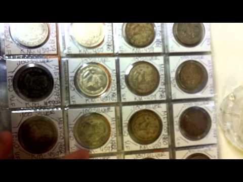 Silver coins collection