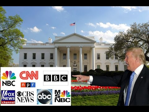 President Trump Kicks The Main Stream Media Out of the White House!!!