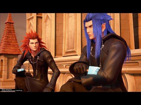 Axel And Saix Reunite Before Battle Kingdom Hearts 3