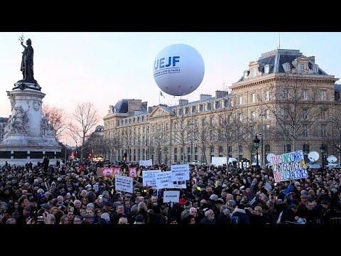 شاهد: احتجاجات في فرنسا ضد -معادة السامية-  - نشر قبل 12 دقيقة