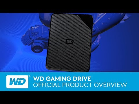 WD Gaming Drive- Works with PlayStation 4™  |  Official Product Overview