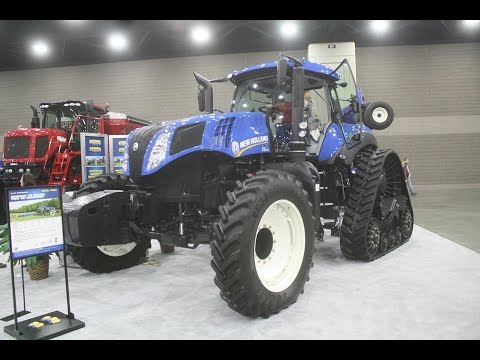 New Holland Exhibit at the 2015 National Farm Machinery Show