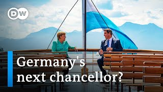 Merkel visits Bavaria: Is she meeting with her successor? | DW News