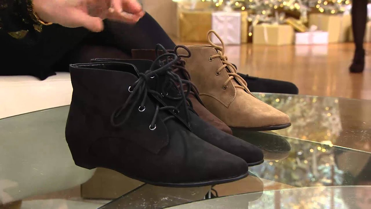 Aerosoles Lace Up Ankle Boots