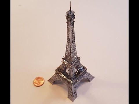 Metal Earth - Eiffelturm aus Edelstahl - Eiffel Tower stainless steel