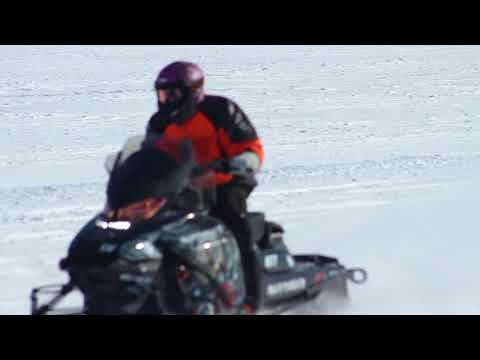 Inuvik Muskrat Jamboree Open Cross Country Ski-doo races