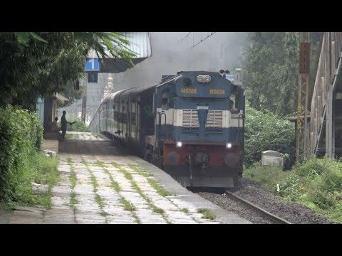 One Hell Of A Climb by Chennai Express at Khandala Hill Station, Bhor Ghats (4K Resolution)