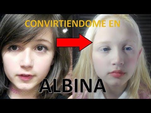 Tutorial de Maquillaje ♡ ¿Cómo convertirte en albina? ♡ Fácil y Rápido ♡