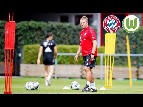 Hansi Flick über Thiago, Coutinho & Klopp   Pressetalk   VfL Wolfsburg - FC Bayern