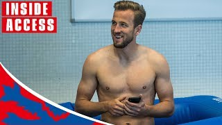 Craig Mitch Joins Harry Kane For Recovery Ice Bath! | Exclusive Interview | World Cup 2018