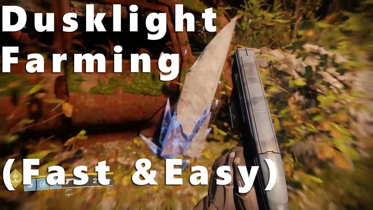 Destiny 2   EDZ Dusklight Shard Farming location! Fast & Easy