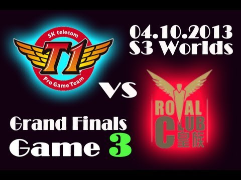 RYL vs SKT T1 | Royal Club vs SK Telecom T1 Game 3 | Finals of Season 3 World Championship | S3 VOD