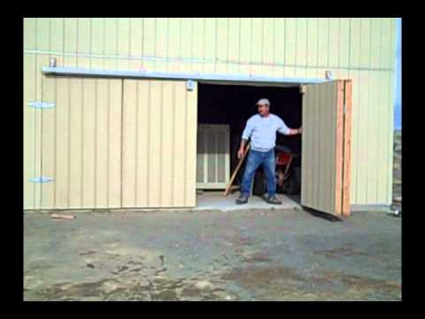 Bifold Shop Door Fallon Youtube