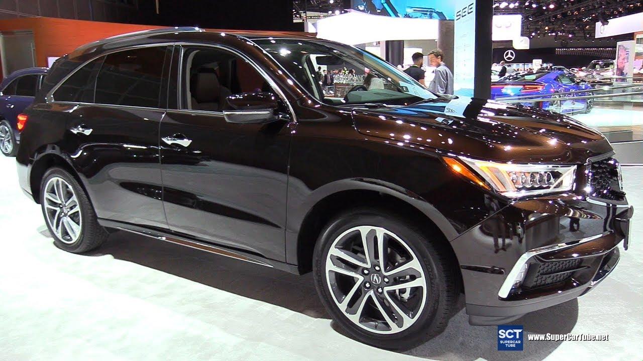 2018 Acura Mdx Exterior And Interior Walkaround 2017 La Auto Show
