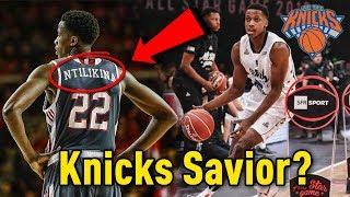 Will Frank Ntilikina Be The SAVIOR Of The NEW YORK KNICKS? *2017 NBA Lottery Pick*