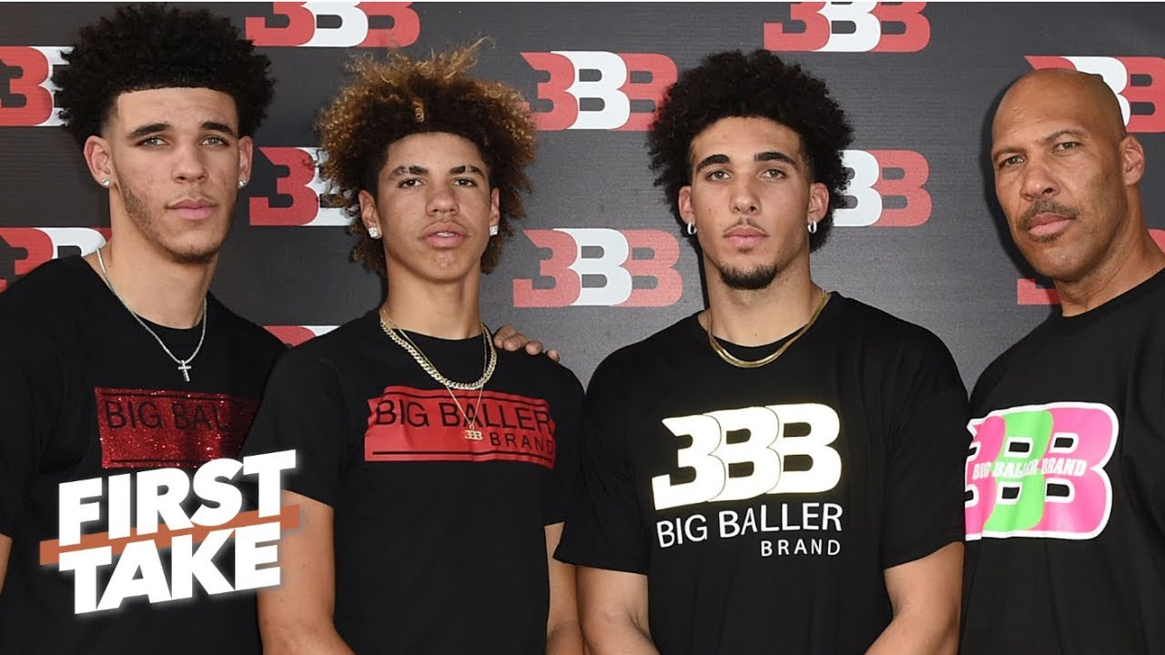 first take debates impact liangelo ball arrest has on big baller brand first take espn