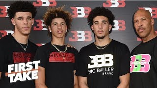 First Take debates impact LiAngelo Ball arrest has on Big Baller Brand | First Take | ESPN