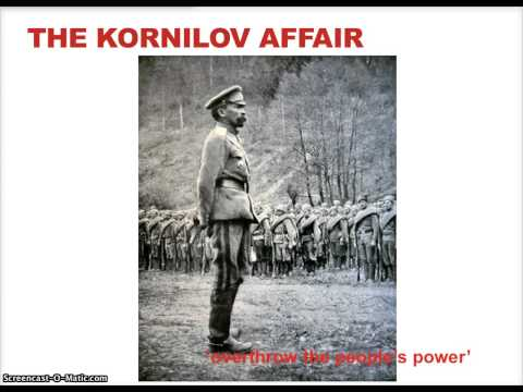 05.02.15 - The July Days, Kornilov Affair and Reform