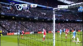 اهداف مباراة مانشستر سيتي وارسنال 6-3 فارس عوض