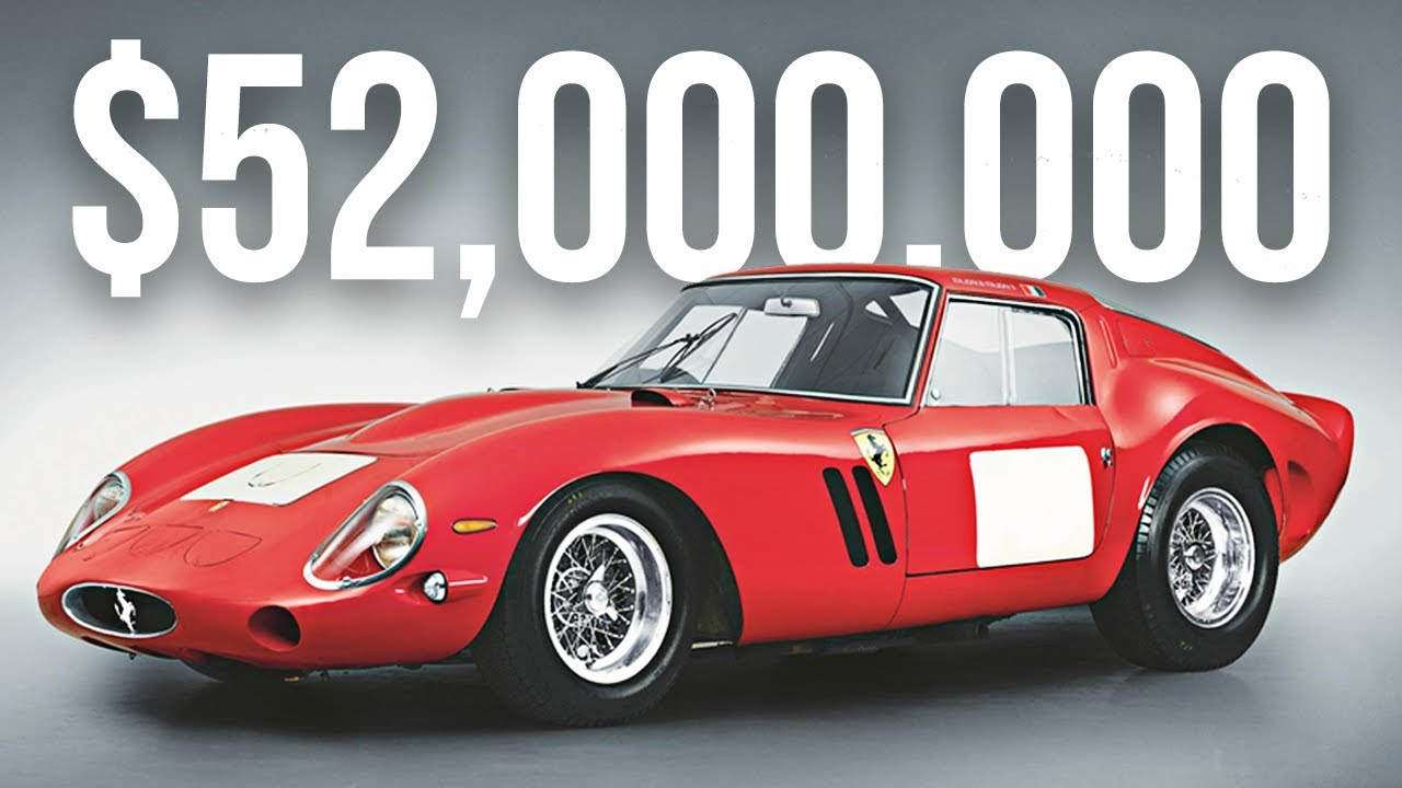 5 Most Expensive Ferrari S Ever Made Youtube