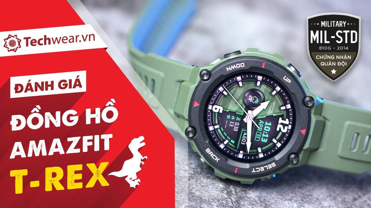 Đánh giá chi tiết đồng hồ HUAMI AMAZFIT T-REX - phiên bản QUỐC TẾ, pin khủng 20 ngày