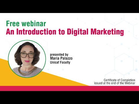 An introduction to Digital Marketing from Unicaf