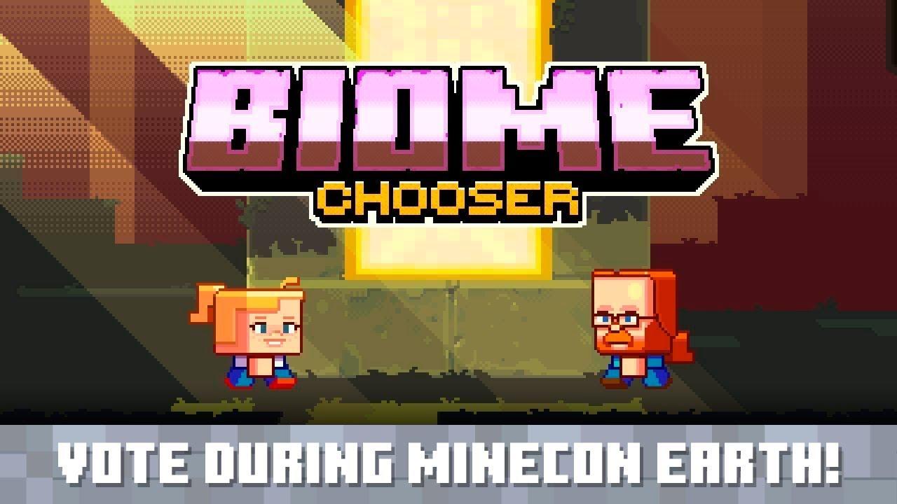 biome chooser announcement trailer youtube