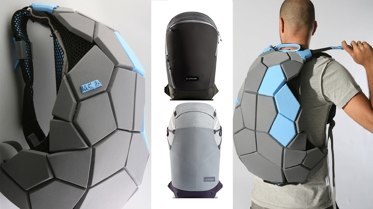 Top 5 - Futuristic Backpacks You Can Buy Today - YouTube 9bdfdcf198367