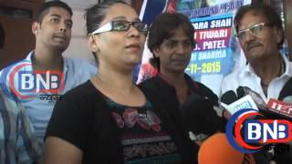 interview with star cast bhojpuri film haseen song recording