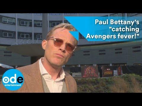 Avengers: Infinity War: Paul Bettany's
